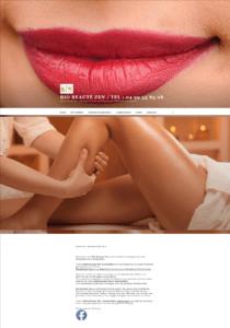 bio beaute zen - agence web mediatisse